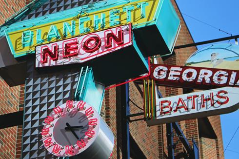 Neon Sign Museum Edmonton Alberta