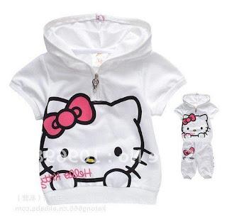 Gambar Jaket Hello Kitty Untuk Anak 6