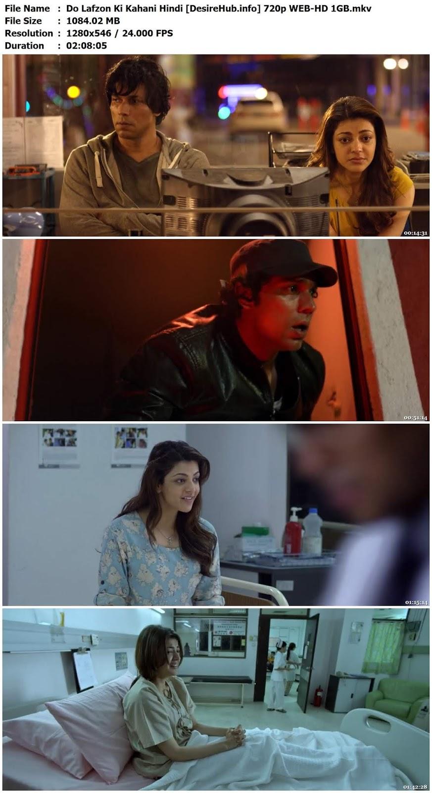 Do Lafzon Ki Kahani 2016 Hindi 720p WEB-HD 1GB Desirehub