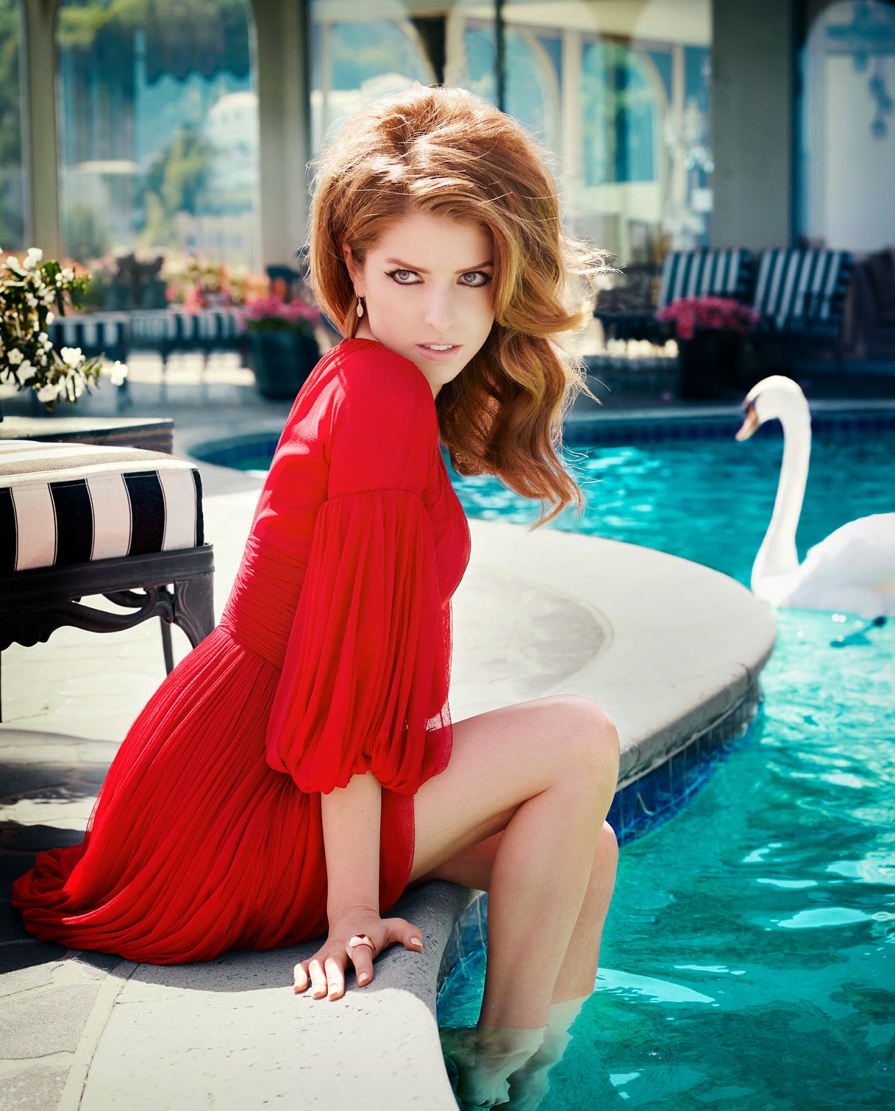 Anna Kendrick Carter Smith for Elle July 2014
