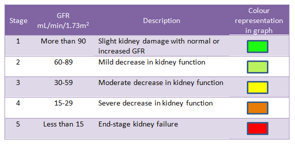 Prepare For Medical Exams Estimated Gfr Or Egfr For Staging Chronic Renal Disease