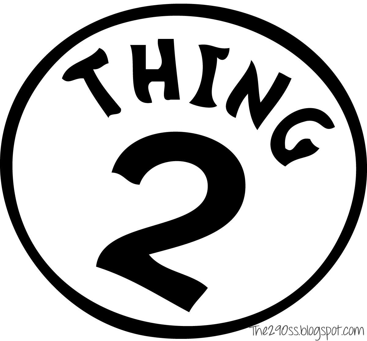 The290ss: Thing One and Thing Two Treat Bags