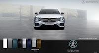 Mercedes E300 AMG 2018 nhập khẩu màu Bạc Diamond 988