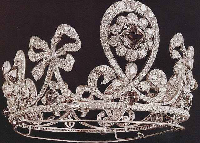 Empress Alexandra of Russia Bolin Emerald Tiara