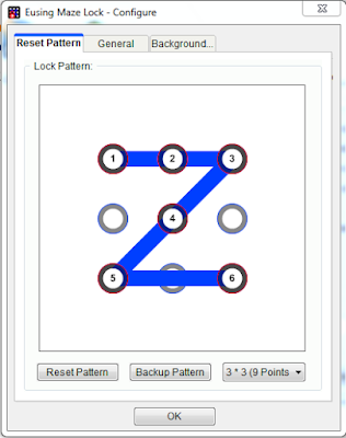 Eusing Maze Lock - configuration