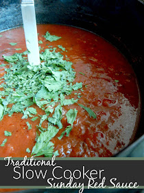 traditional slow cooker sunday red sauce (sweetandsavoryfood.com)