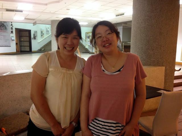 2014年5月,還在交大圖書館樓下上課的時候
