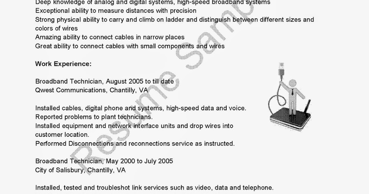 Electronic Technician Resume Sample: Steve Jobs Resume Could Fetch ...