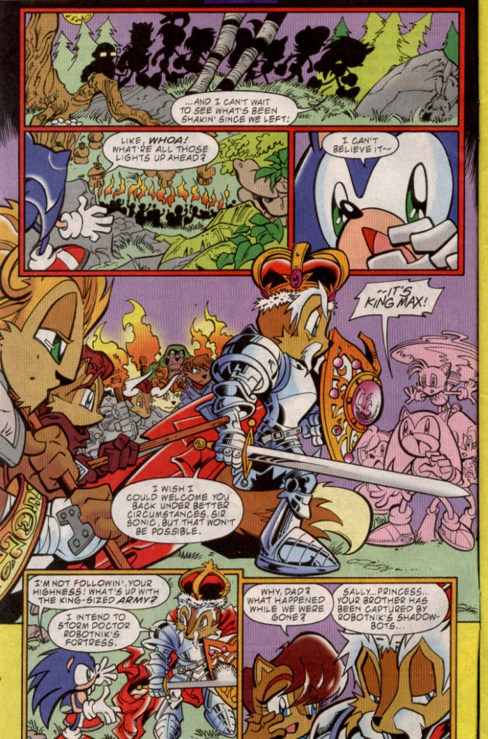 Read online Sonic The Hedgehog comic -  Issue #88 - 3