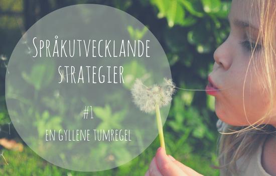 Barns-språkutveckling-språkstimulerande-strategier