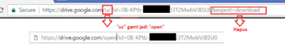 Download google drive yang limit akses