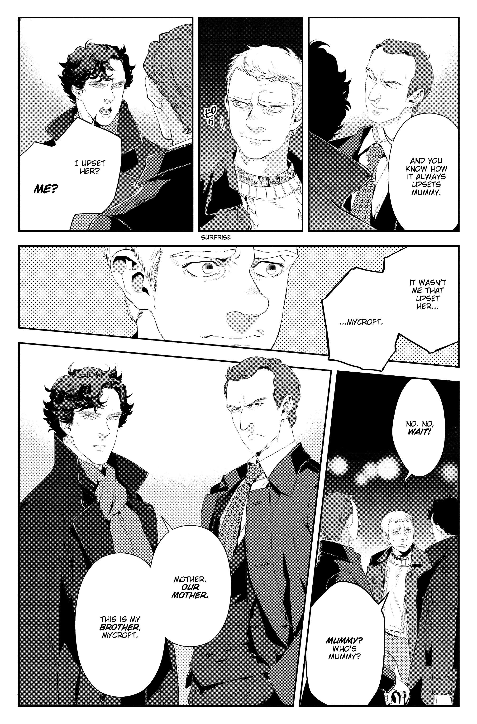 Read online Sherlock: A Study In Pink comic -  Issue #6 - 39