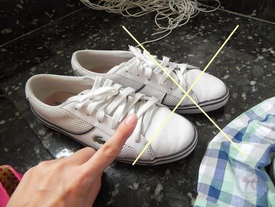 f430e798189 Então tênis de couro são proibidos de ser lavados em máquina. Ensino na  semana que vem como lavar tênis de couro