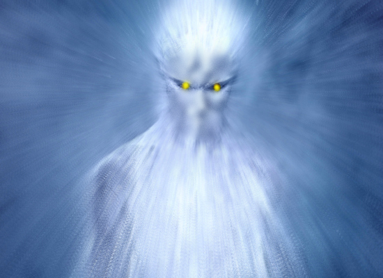 Tall Yellow-Eyed 'Silver' Humanoid Described by Experiencers