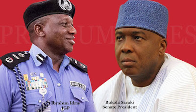 Buhari Gives IG of Police Approval tp Arrest Saraki