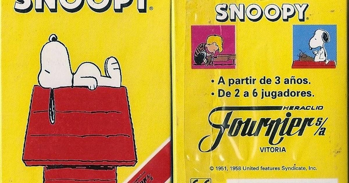 Barajas y Naipes: Snoopy