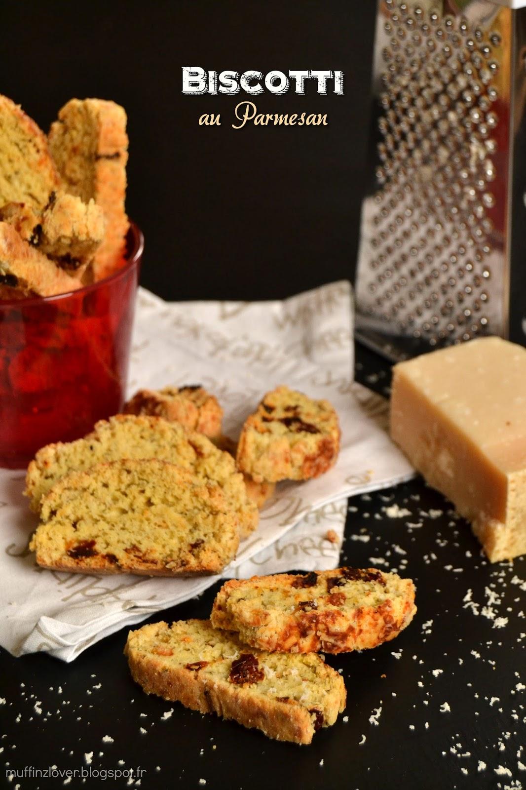 Recette Biscotti Parmesan - muffinzlover.blogspot.fr