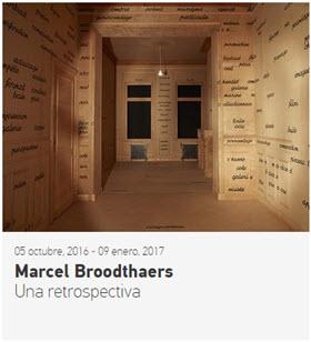 'Marcel Broodthaers. Una retrospectiva', exposición en el Museo Nacional Centro de Arte Reina Sofía
