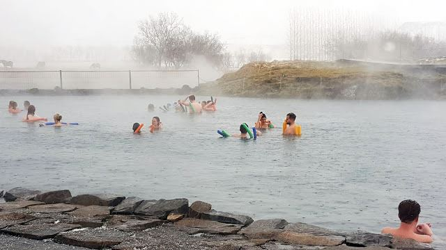 Gamla Laugin secret lagoon Iceland