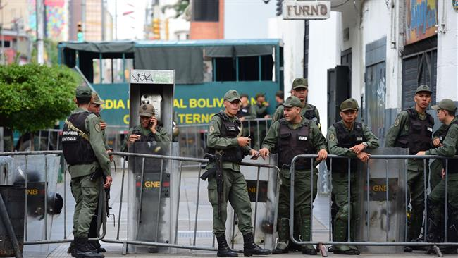 Authorities in the ruling Socialist Party of Venezuela foils military action against President Nicolas Maduro