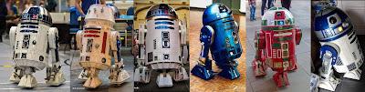 R2D2, R5D4, astromech droid, Bristol Comic Con - March 2019