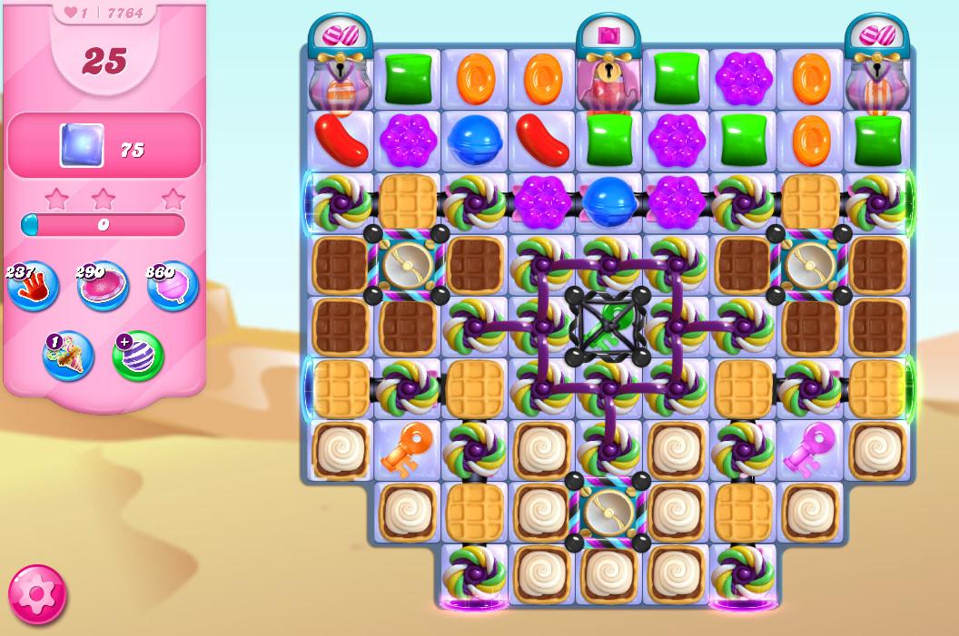 Candy Crush Saga level 7764