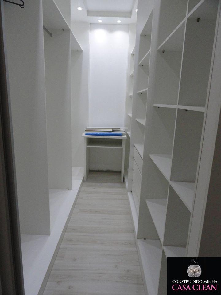 Construindo Minha Casa Clean Montagem do Meu Closet Sob