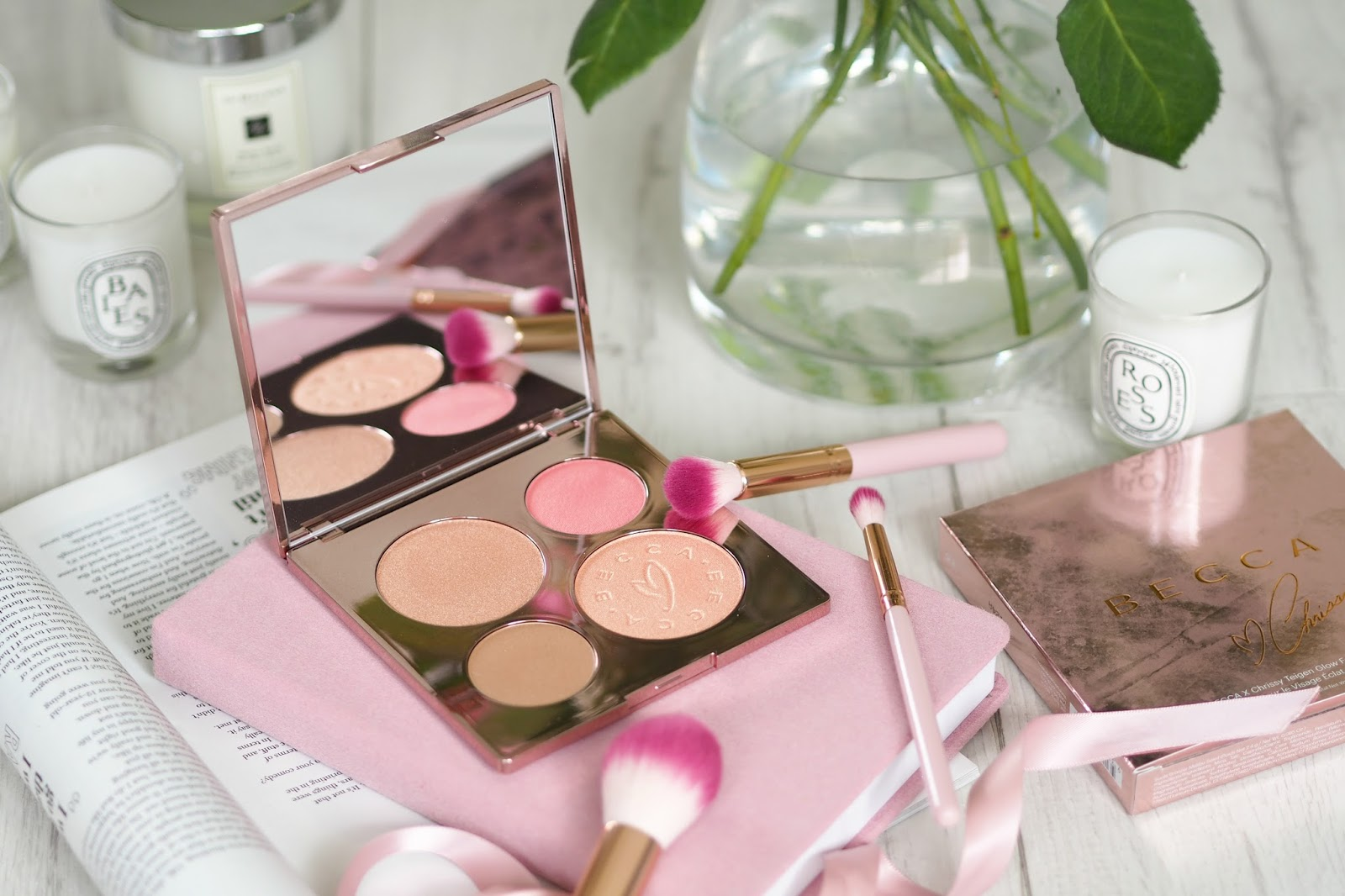 BECCA X Chrissy Teigen Glow Face Palette review UK