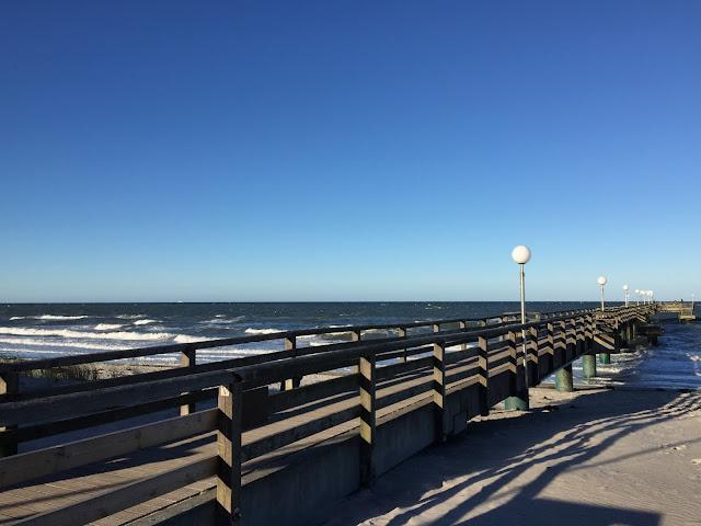 Windig an der Ostsee