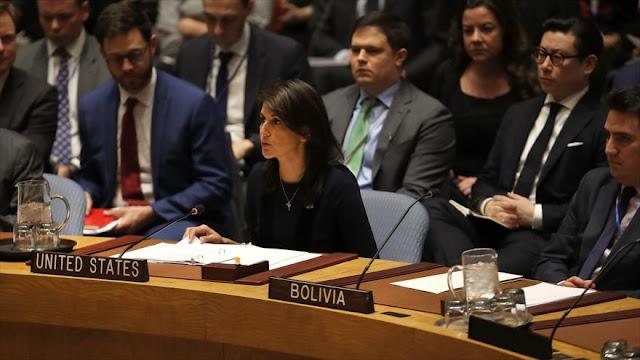 Palestina llama a anular el derecho a veto de EEUU en la ONU