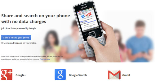 First in the Philippines: Google's free mobile search, email service debut