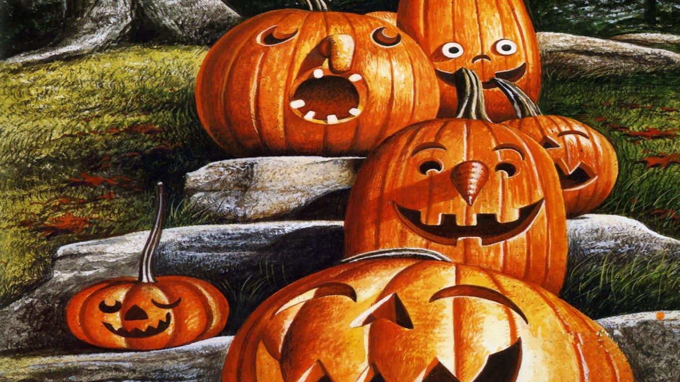 halloween pictures wallpaper pumpkin - photo #45
