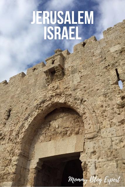 Jerusalem Israel Old City Wall