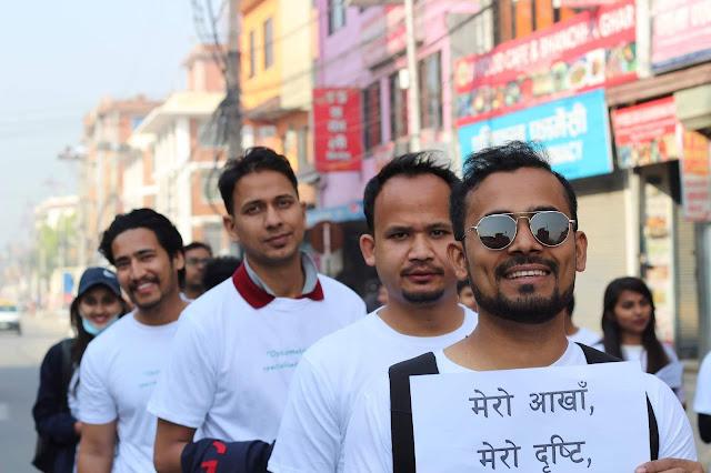 Manish Dahal, Bishal Hamal, Ashesh Acharya, Sakar Subedi optometrist