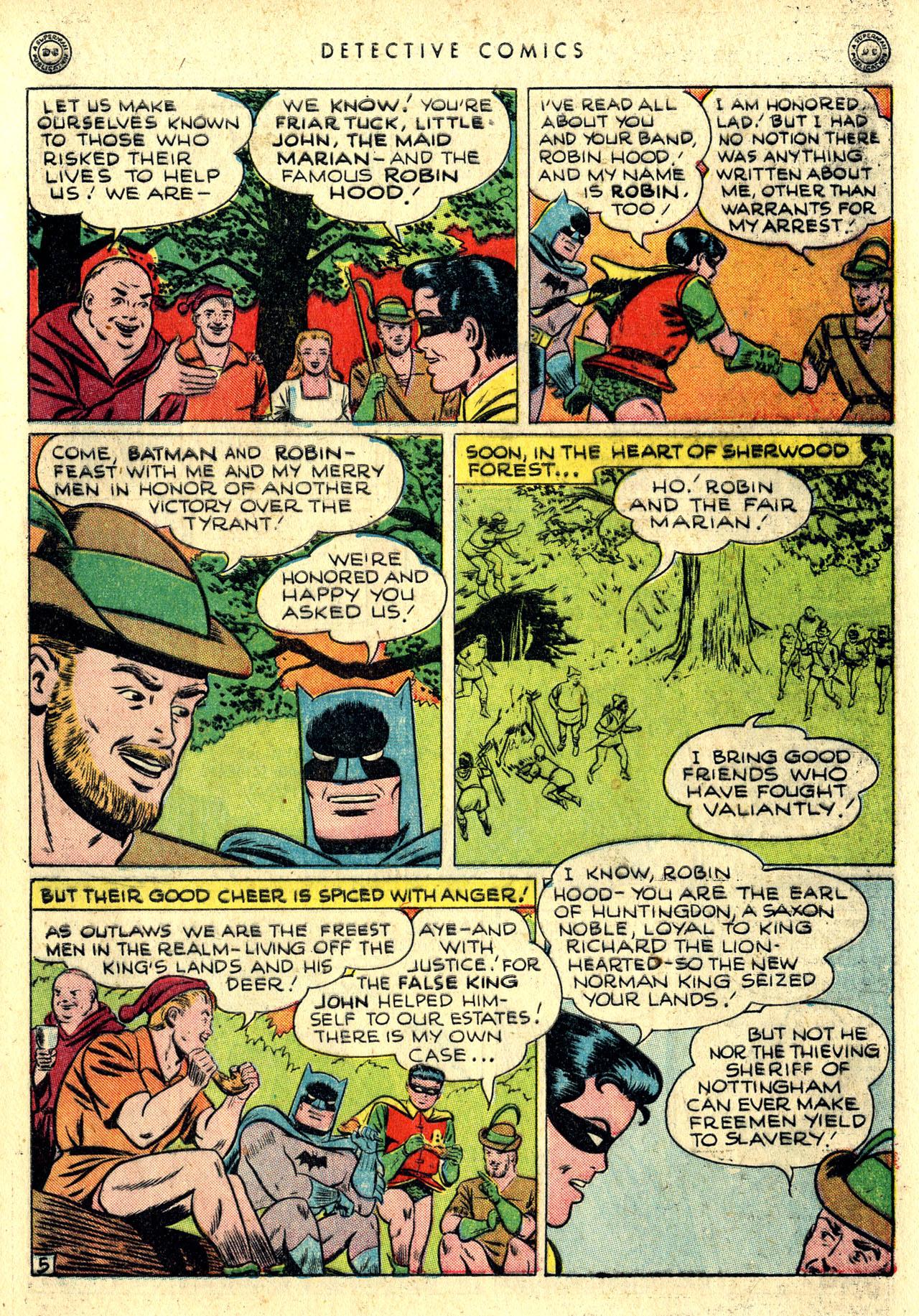 Read online Detective Comics (1937) comic -  Issue #116 - 7