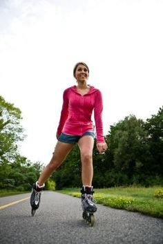 how to rollerblade to lose weight
