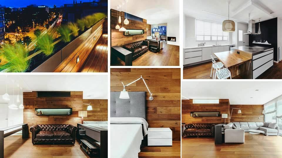 Stylish Apartment Design In Barcelona