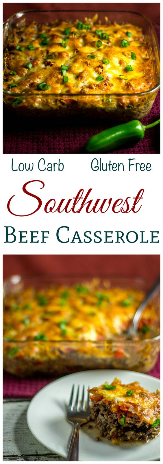 Low carb keto southwest black bean casserole