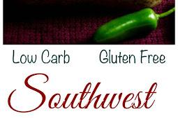 Low carb keto southwest black bean casserole