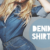 1 camisa denim: Varias formas de usarla