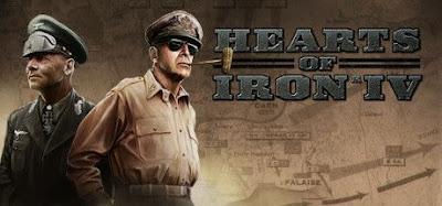 صورة  لتجربة العبة حرب وإستراتيجية Hearts of Iron 4 في جهاز الحاسوب