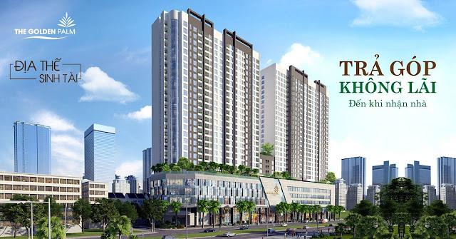 Chính sách bán hàng ưu đãi dự án The Golden Palm tháng 12/2016