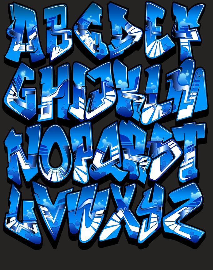Grafiti Nama Keren : grafiti, keren, Menakjubkan, Gambar, Grafiti, Huruf, Balok, Keren, Gudang