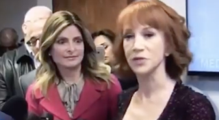 Gateway Pundit Reporter Confronts Kathy Griffin On Her Promise to Harass 11 Year-Old Barron Trump (VIDEO)