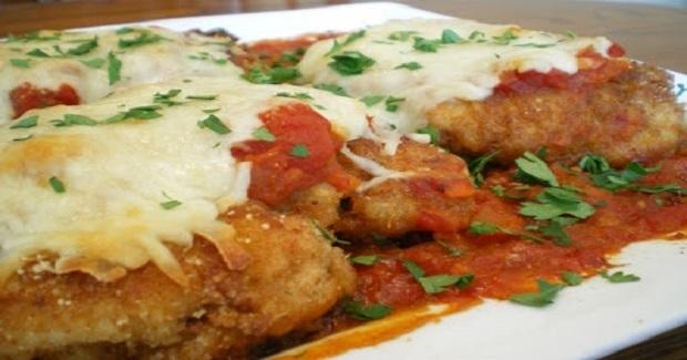 Chicken Parmesan With Marinara Sauce Recipe