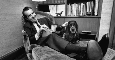 President Nixon and Checkers