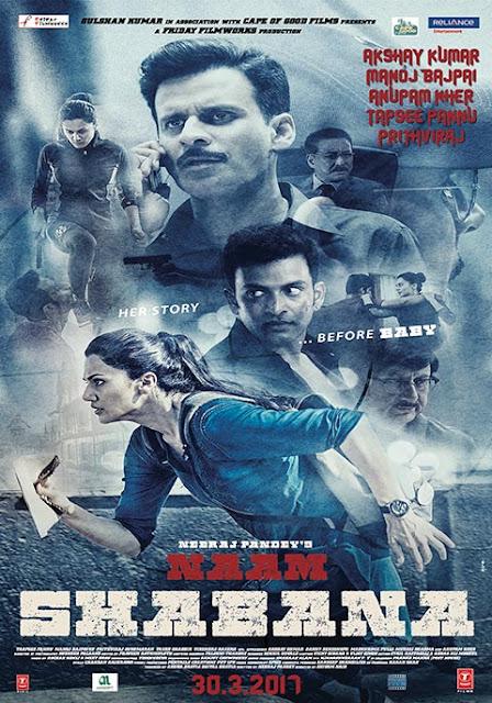 Naam Shabana (2017) DVDRip 720p Subtitle Indonesia
