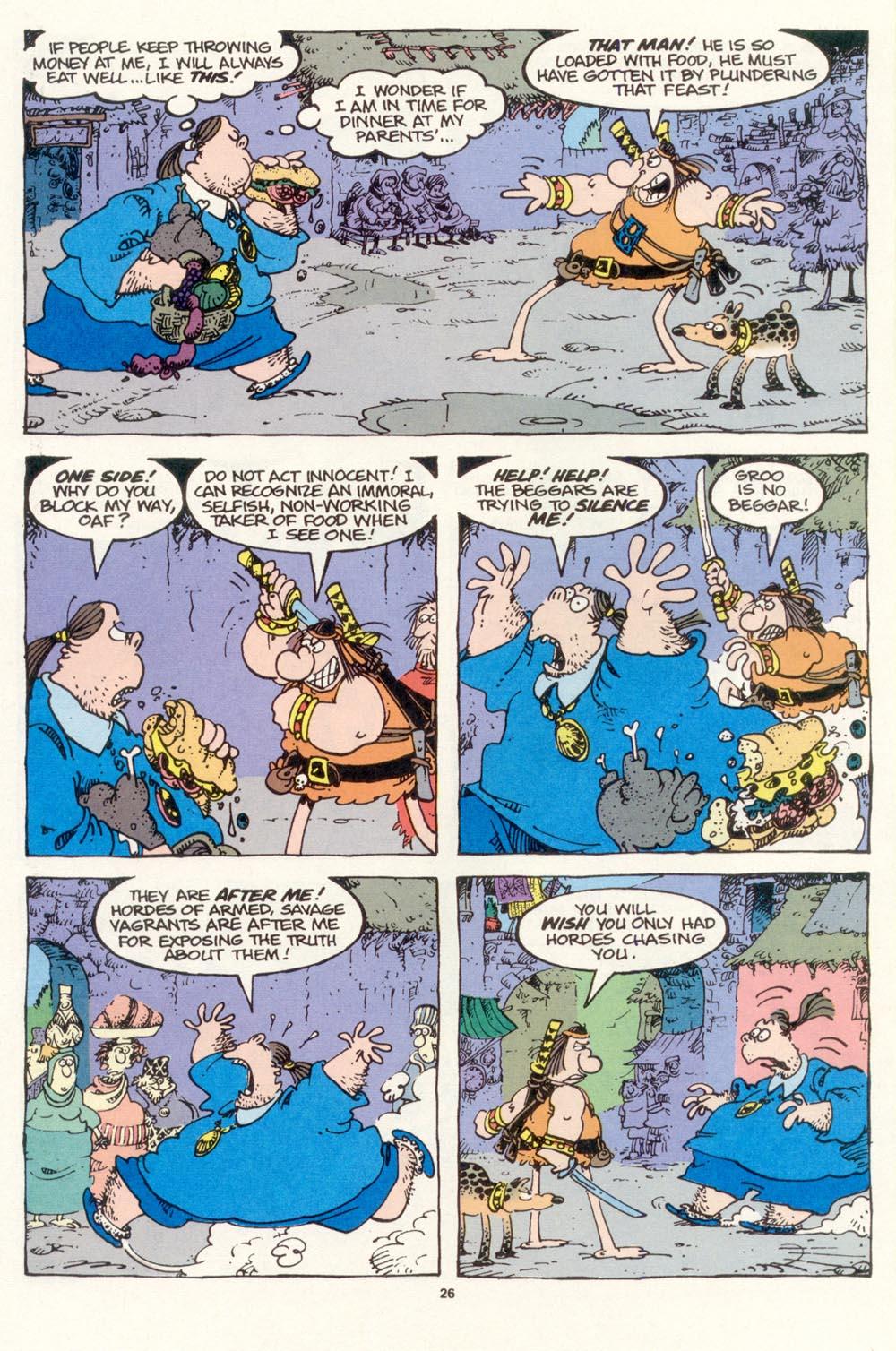Read online Sergio Aragonés Groo the Wanderer comic -  Issue #118 - 28