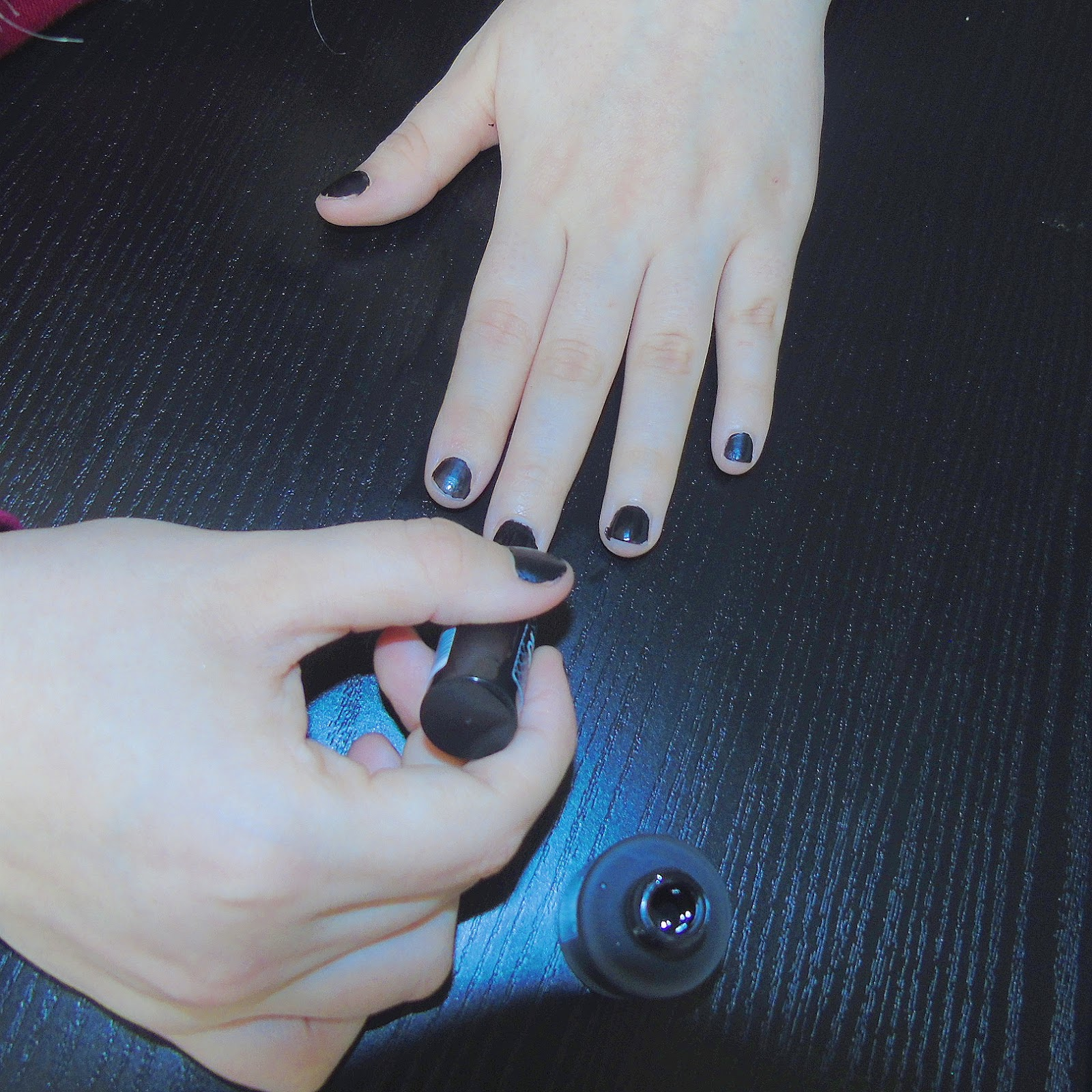 Matte Black Nail Polish Review | Hession Hairdressing