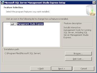 Cara Installasi SQL Server Management Studio